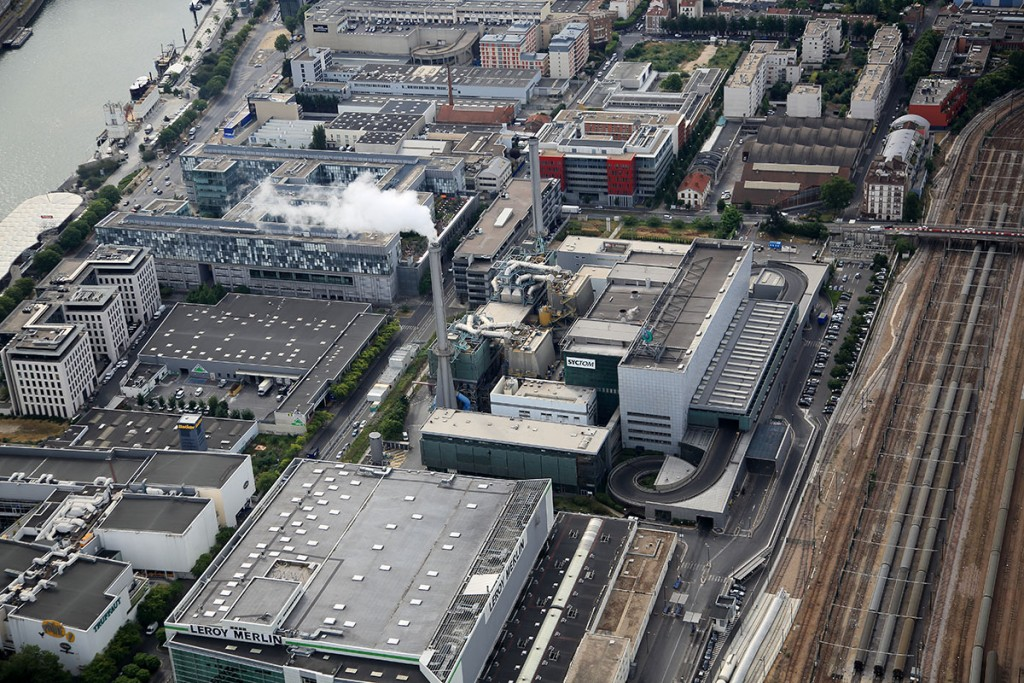 Le centre actuel de traitement des déchets ménagers situé à Ivry-Paris XIII